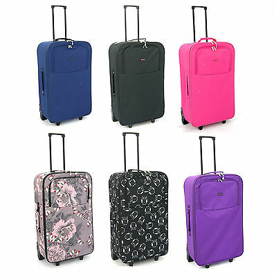 "Large 27""  Extra Lightweight Travel Wheeled Trolley Luggage Suitcase Bag Case"