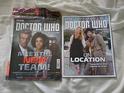 doctor who magazine issue 502 & On Location special edition NEW