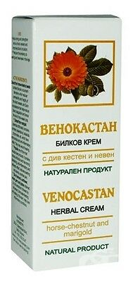 VENOCASTAN herbal cream for varicose veins with horse chestnut & marigold, 50ml