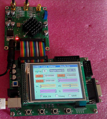 New 300MHz LCD AD9854 DDS Signal Generator STM32F103 Controller Board
