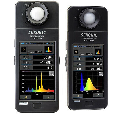 100% Genuine Sekonic C-700R SpectroMaster Color Meter Wireless Flash Triggering