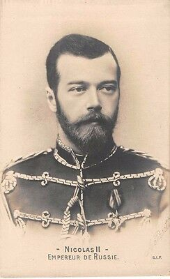 Russian Royal Family -   Czar Nicholas II of Russia - Early Real Photo