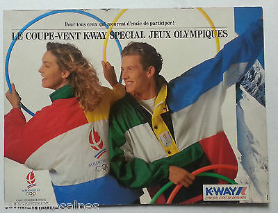 Jeux Olympiques/olympic games France Albertville 1992 - Documents journaux...