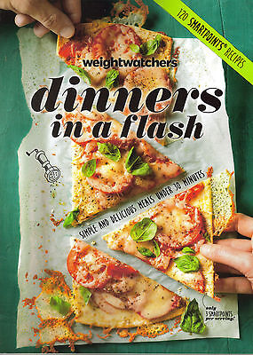New 2016 Weight Watchers Cookbook Dinners In A Flash 120 Smartpoints Recipes
