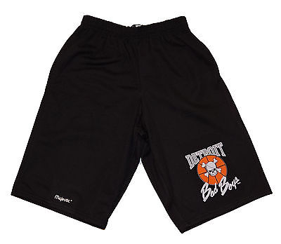 Detroit Pistons Bad Boys Shorts Black