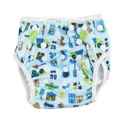 Adjuatable Reusable Swim Nappy Baby Cover Diaper Pants Nappies Swimmer Infant LH