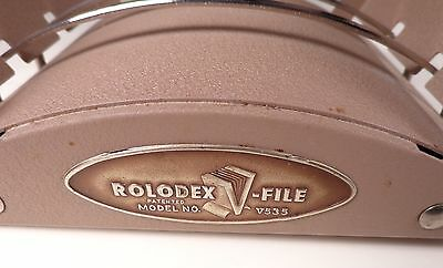 Vintage V535 Rolodex File