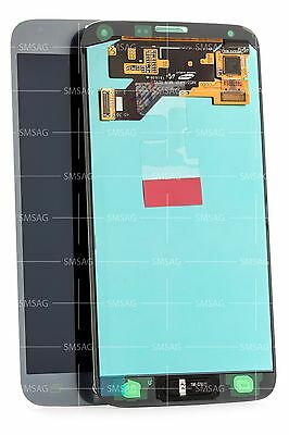 Samsung S5 Neo G903f LCD Touchscreen Digitizer Display silber silver GH97-17787C