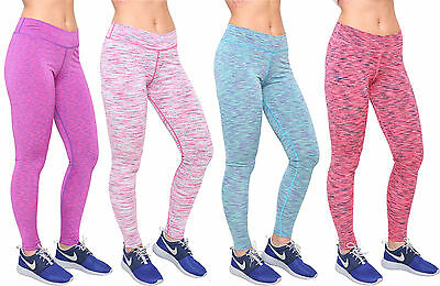 Femme Taille Haute Sport Gym Yoga Fitness Course Leggings Compression Pantalon