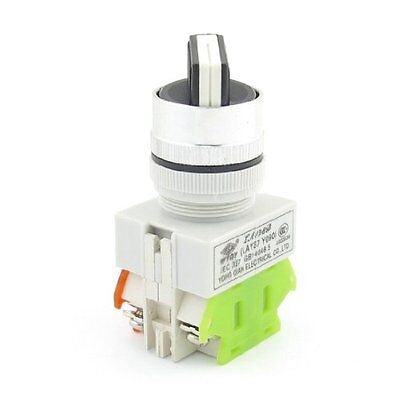 10A 660V Latching 2 Selector Position 1NO 1NC DPST Rotary Switch