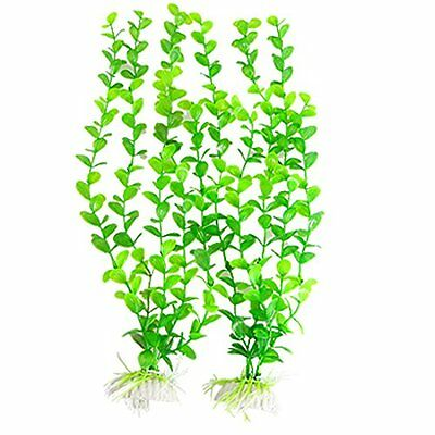 Sourcingmap Plastic Aquarium Bacopa Monnieri Plants Ornement, Green