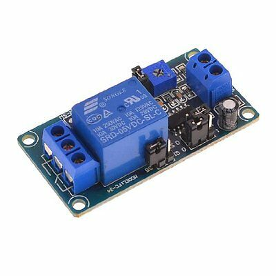 DC 5V Coil 1 Channel On Time Delay PCB Relay Module Board
