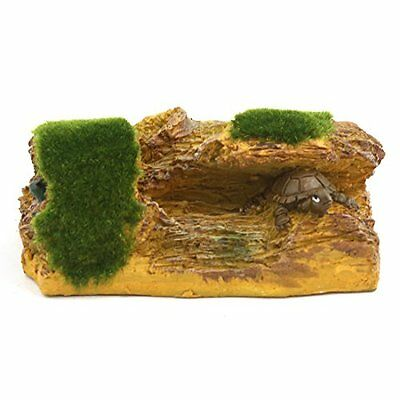 sourcingmap Aqua Landscape Artificial Trunk Cave Mountain Decoration, 11 x 8 x 5