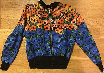 Girls Next Stunning Summer Floral Zip Front Light Jacket Age 5 Years Wow Trendy