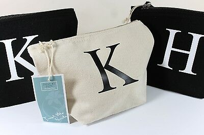 Personalised Make Up Wash Bag Birthday Christmas Stocking Filler Gift Present