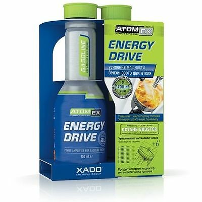 Xado AtomEx Energy Drive FOR GASOLINE ENGINE Octane Booster 250ml Fast US S&H