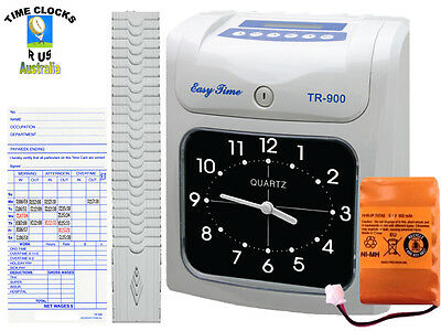 Employee Time Clock Bundy Recorder For Payroll Tr-900