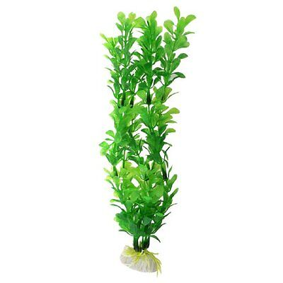Sourcingmap Plastic Fish Tank Floating Plant Decor, 10.2-inch, Green