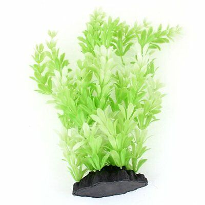 Sourcingmap Snowflake Shaped Fish Tank Water Grass, 10.2-inch, Green