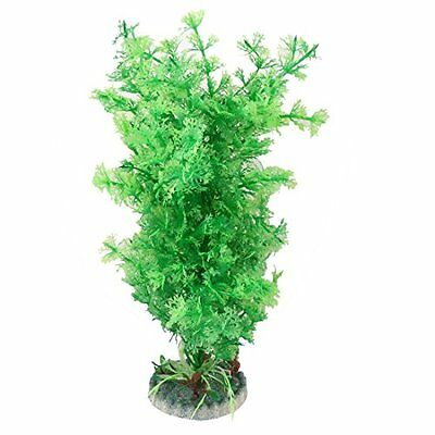 Sourcingmap Aquarium Emulational Plant Grass Ornament, 10-Inch, Green