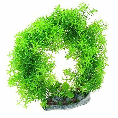 Sourcingmap Simulation Loop Shaped Fish Tank Aquatic Float Grass Plant