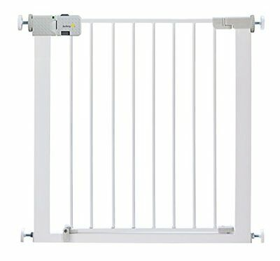 Safety 1st Secure Tech Simply Close Metal Gate (White)
