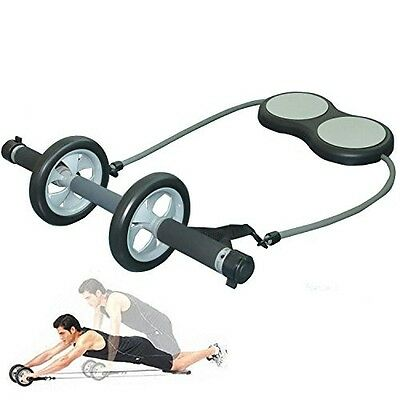 Primary ABS Exercise Wheel w/ Supporting Knee Pad Total Body Training Workout