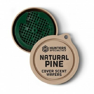 Hunter's Specialties Scent Wafers Natural Pine 3 Wafer 3 Hangers Cover 01024