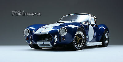 Shelby Cobra 427 S/C Racing - Kyosho 1/18 [Price lowered]