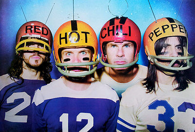 "Red Hot Chili Peppers (1983-Now) POSTER 23""x34"" Funk Alternative Metal Rap Rock"