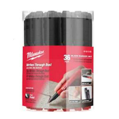 Milwaukee 48-22-3100P INKZALL Black Fine Point Bulk Marker 36 Pack