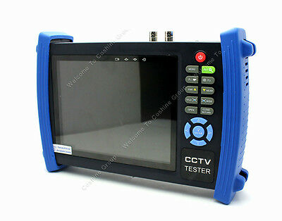"""7""""Screen LCD HD Monitor CCTV Analog Camera Video Cable Tester PTZ Test Feer ship"""