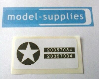 Diecast & Toy Vehicles Dinky 600 Series Army Signs Reproduction Waterslide Transfer Set