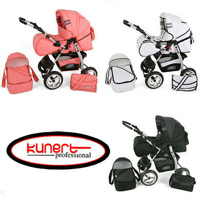 VIP 3in1 BABY PRAM + PUSHCHAIR + CAR SEAT 42 COLOURS REDUCED PRICE
