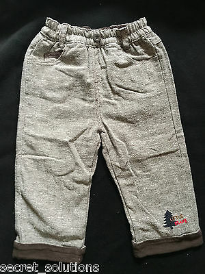 Baby Boys Brown Tweed Trousers 1920s Christmas Gift 9-12-18-24 months 2-3 yrs