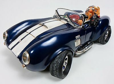 "GUILLERMO FORCHINO ""Shelby Cobra 427"" Comic Art Skulptur - numm. Edition FO85071"