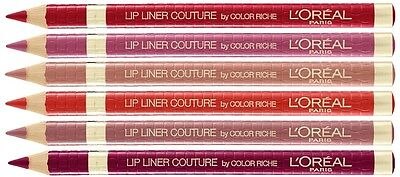 L'Oreal Couture Color Riche Lip Liner - Available in 7 Shades