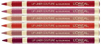 L'Oreal Couture Color Riche Lip Liner Pencil Lipstick Pen [7 Shades Available]