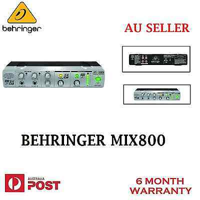 Brand New BEHRINGER MIX-800 Ultra-Compact Karaoke Processor with Voice Canceller