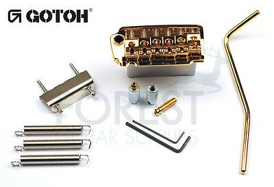 GOTOH EV510T-BS tremolo bridge gold, Brass saddle