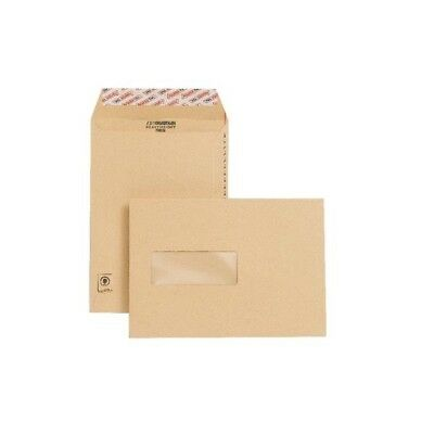 New Guardian Envelope Easy-Open C5 Window 130gsm Manilla Pack of 250