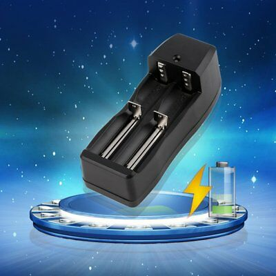 Dual Battery Charger for 18650 16340 CR123A Rechargeable Li-ion Battery XH