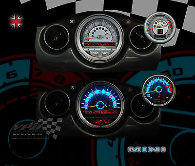 fits:BMW Mini cooper R56 speedo clock interior dash light bulb panel upgrade kit