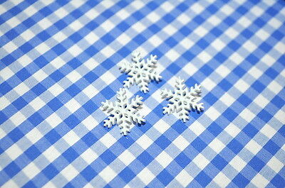 Tractor BUTTONS BUTTON 18mm children WINTER ICE CRYSTAL SNOW FLAKE FROZEN