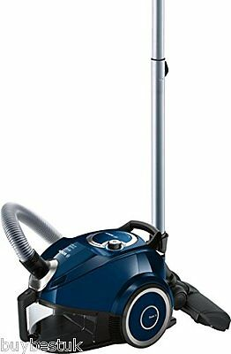 Bosch BGS4ALLGB Compact All Floor 2 Bagless Cylinder Vacuum Cleaner 1.9 L - Blue