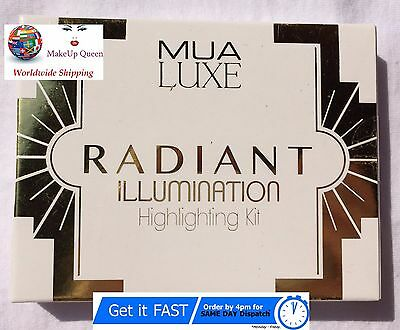 *NEW* MUA Luxe Radiant Illumination Highlight Kit Palette