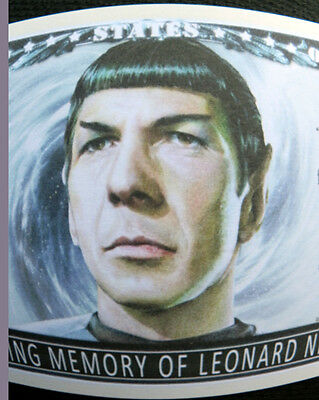 Leonard Nimoy (Spock) Star Trek FREE SHIPPING! novelty bill