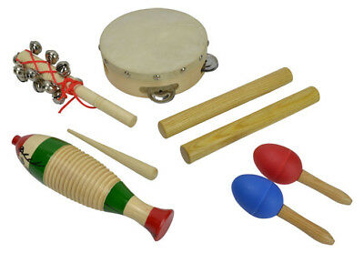 Children's Percussion Set with 5 Items by Bryce