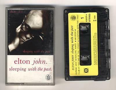 Mc ELTON JOHN Sleeping with the past OTTIMO Musicassetta 1 ed
