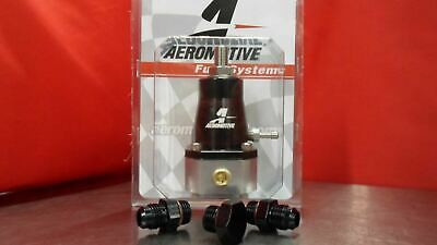 Aeromotive Regulator & FITTING Kit (2) 6-AN (1) PLUG 13129